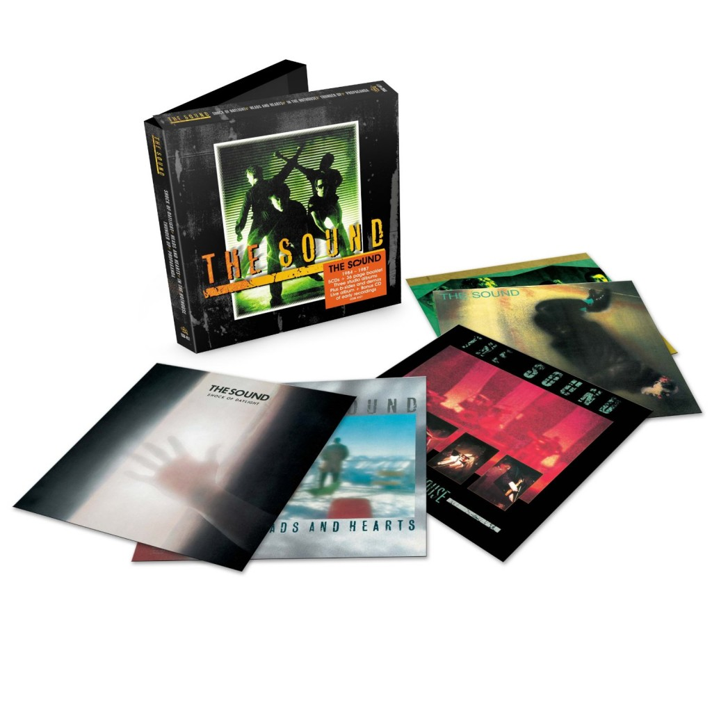 The Sound | 5 LP Box set released featuring recordings between 1984